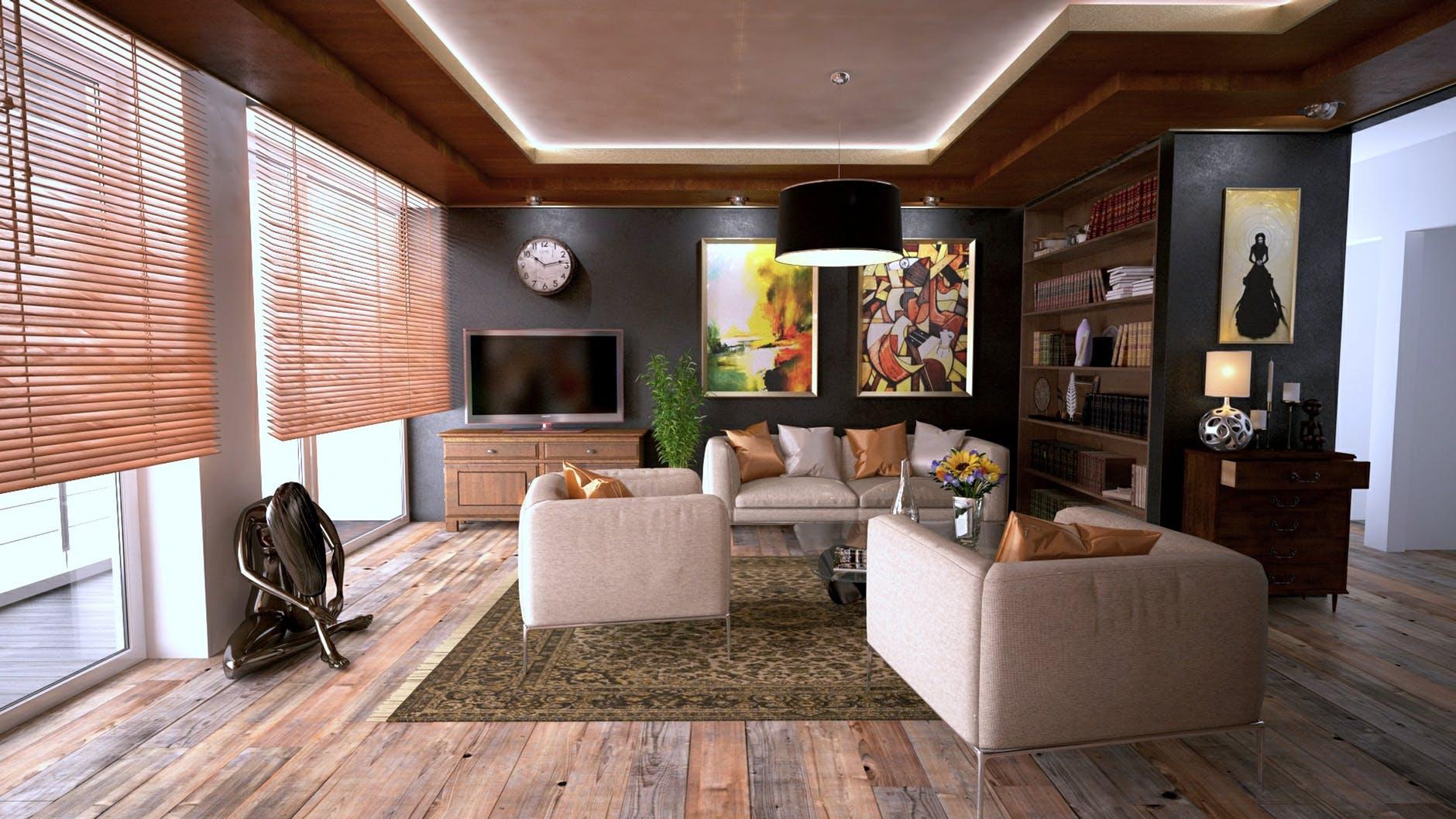 Goedkope tips voor een stijlvolle woonkamer